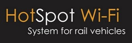 Hotspot WiFi for rail vehicles